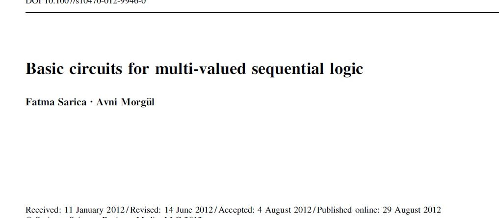 Multivalued logic