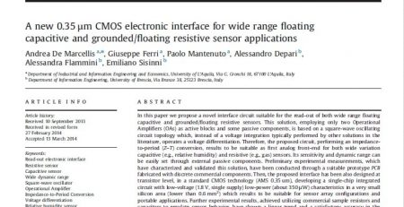 floating capacitive