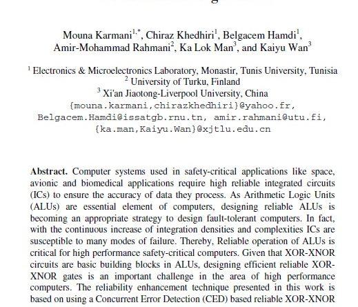 XOR-XNOR circuits